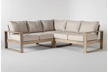 Malaga Outdoor 3 Piece Sectional