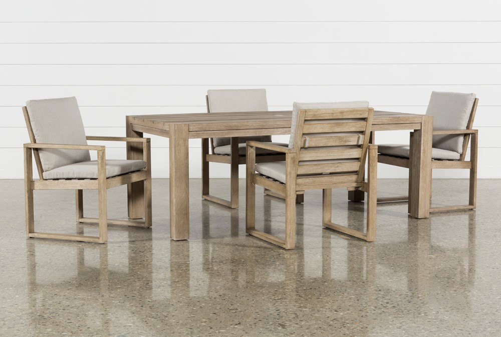 Malaga Outdoor 5 Piece Dining Set