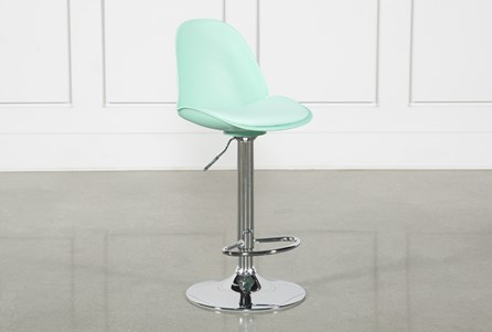 Dixon Aqua 33 Inch Adjustable Barstool