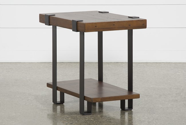 Marvin Coffee Bean End Table - 360