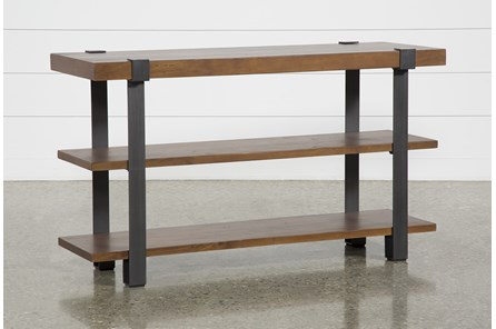 Marvin Coffee Bean Sofa Table