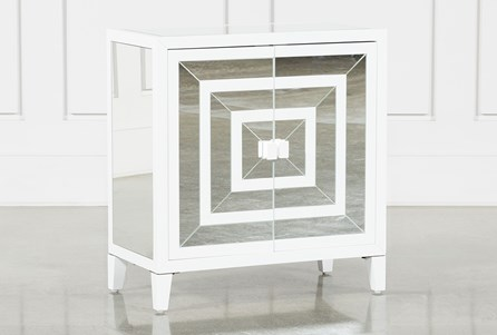 Hailey Mirrored Door Accent Chest