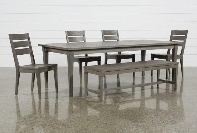 Casey 6 Piece Extension Dining Set - 360