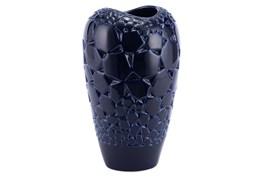 Dark Blue Round Small Vase
