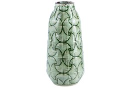 Multilayer Green Medium Vase