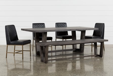 Bale 6 Piece Dining Set With Dom Side Chairs