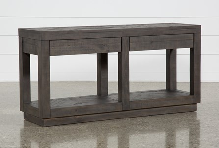 Harrison Console Table Living Spaces, Cool Sofa Tables