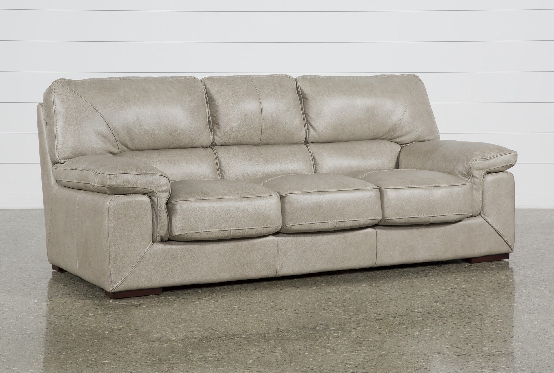 Molly Leather Sofa | Living Spaces