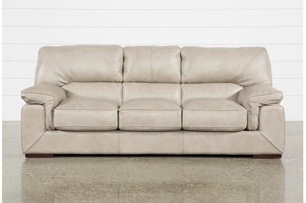 Molly Leather Sofa - Main