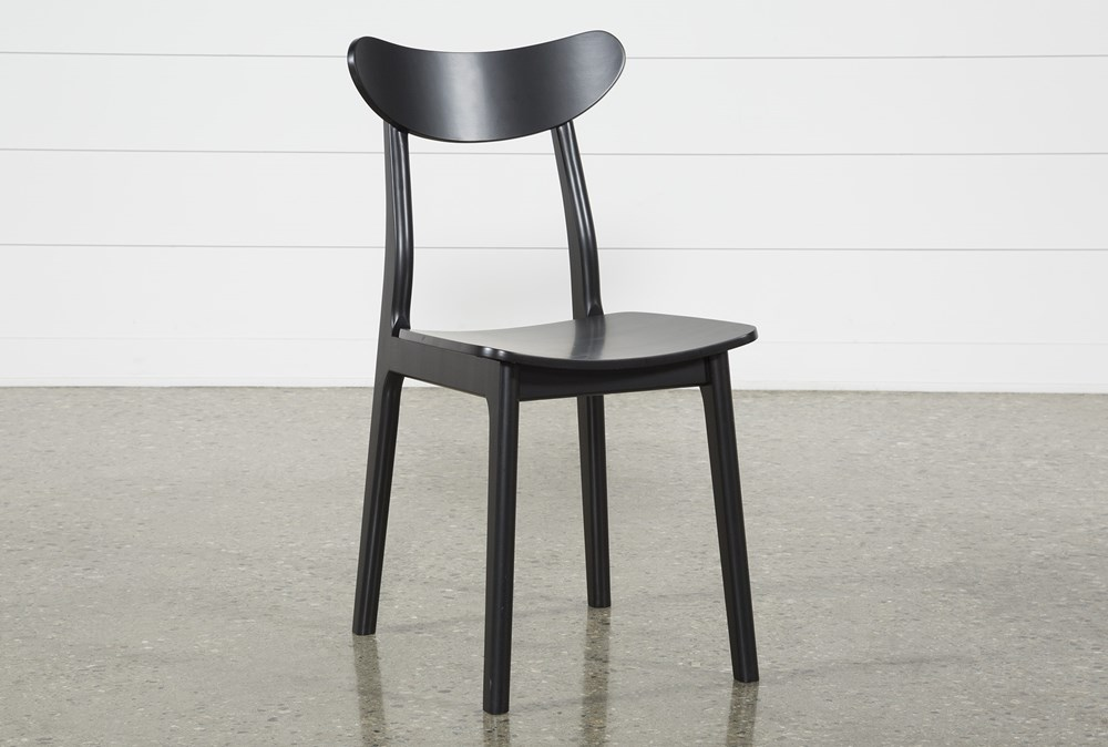 Carson Black Dining Side Chair