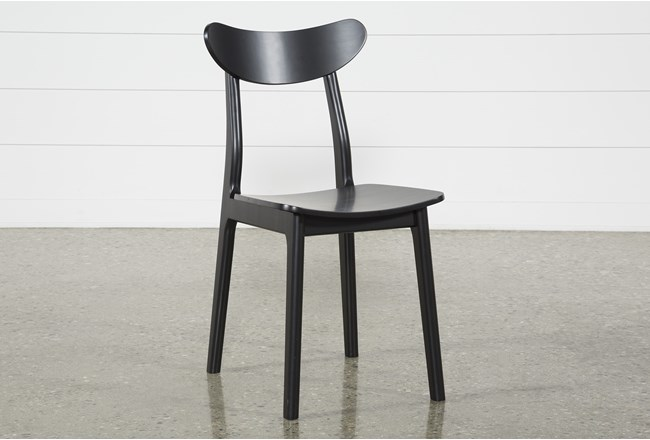 Carson Black Dining Side Chair - 360