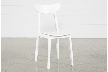 Carson White Dining Side Chair