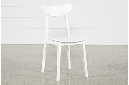 Carson White Dining Side Chair - Main