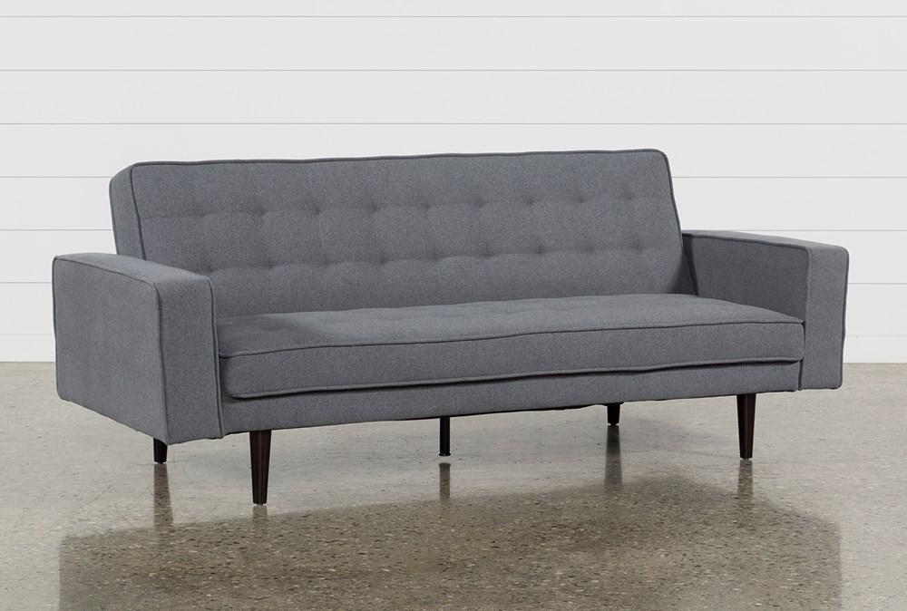 Petula Slate Convertible Sofa Bed