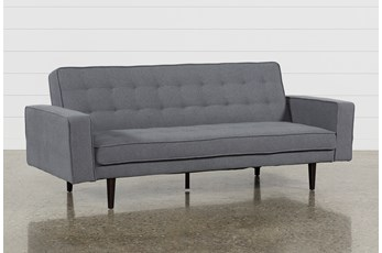 Petula Slate Convertible Sofa Bed