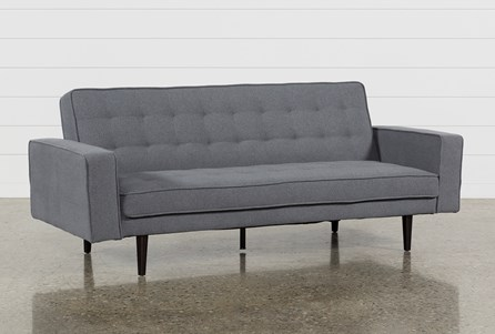 Petula Slate 2 Piece Convertible Sofa Bed