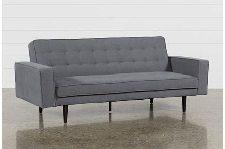 Petula Slate 2 Convertible Sofa Bed
