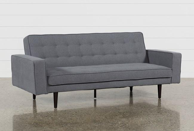Petula Slate Convertible Sofa Bed - 360