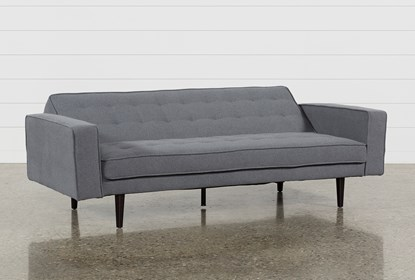 Prime Petula Slate Convertible Sofa Bed Gamerscity Chair Design For Home Gamerscityorg