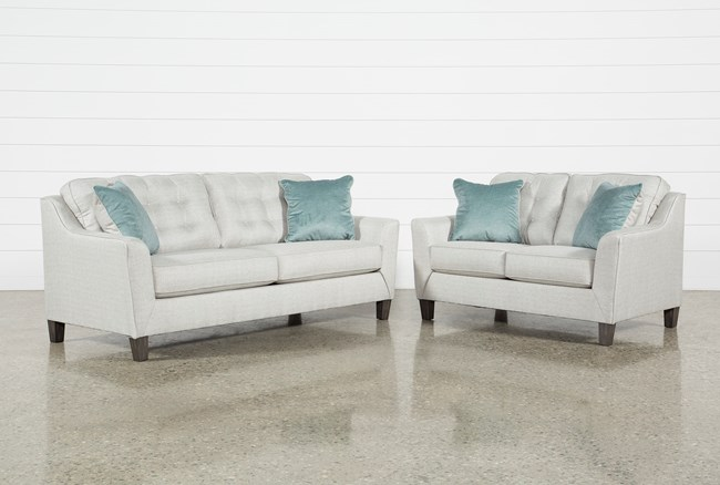 Shelton 2 Piece Living Room Set With Queen Sleeper - 360