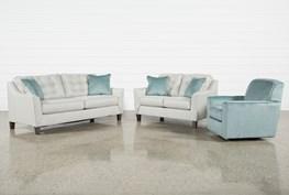 Shelton 3 Piece Living Room Set