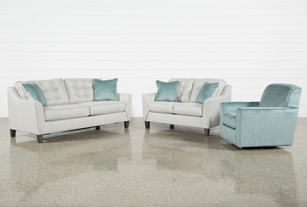 Shelton 3 Piece Living Room Set