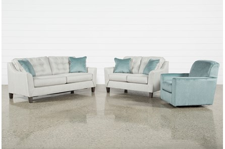 Shelton 3 Piece Living Room Set - Main