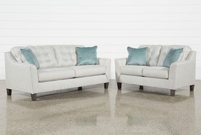 Shelton 2 Piece Living Room Set - 360