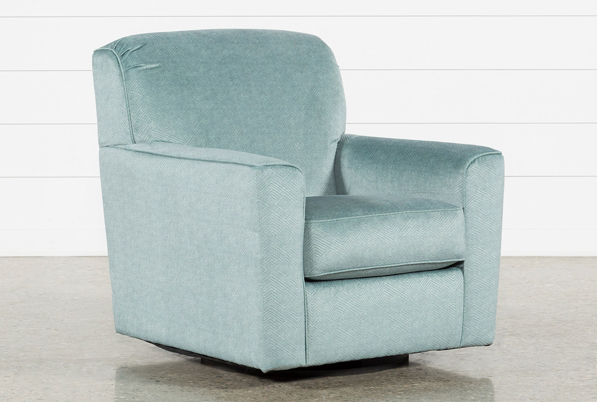 Shelton Swivel Accent Chair Living Spaces