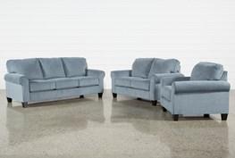Neah 3 Piece Living Room Set