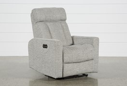 Halo Grey Power Recliner With Power Headrest And Usb