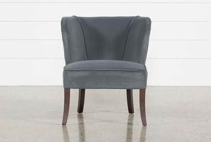 Tremendous Krista Grey Accent Chair Caraccident5 Cool Chair Designs And Ideas Caraccident5Info