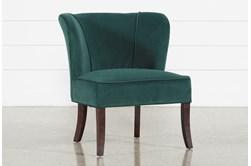 Krista Green Accent Chair