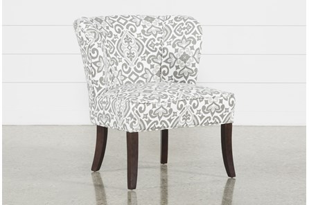 Kaylee Grey Accent Chair - Main