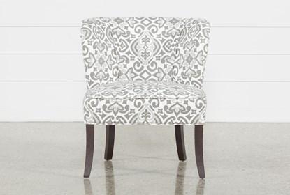 Fabulous Kaylee Grey Accent Chair Machost Co Dining Chair Design Ideas Machostcouk