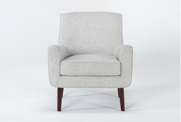 Kendra Beige Accent Chair