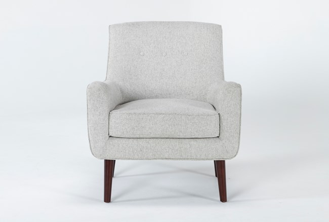 Kendra Beige Accent Chair - 360
