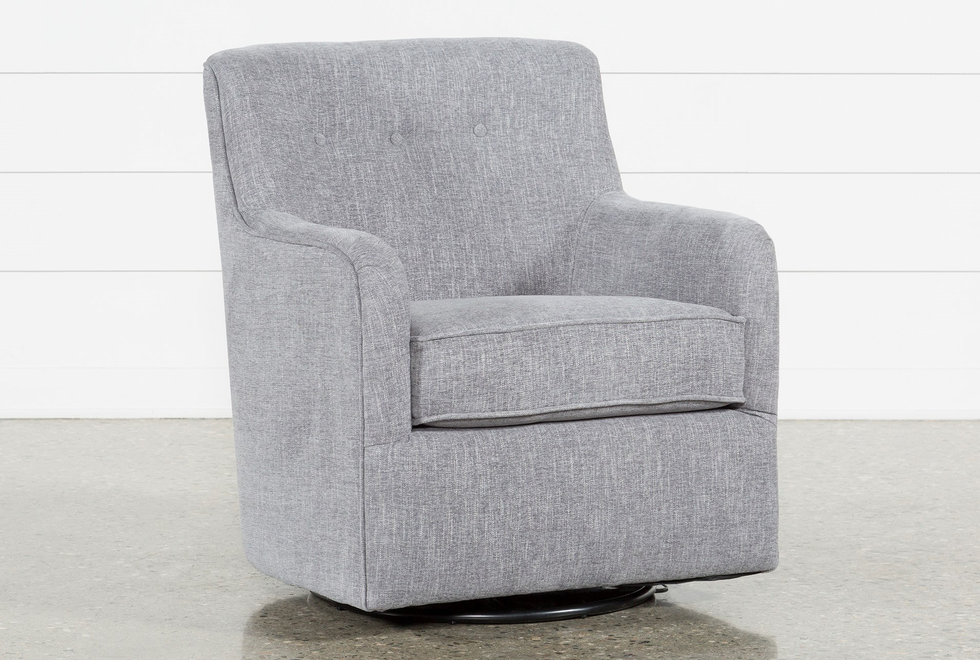 finest selection 03fbe efc4e Katrina Grey Swivel Glider Chair