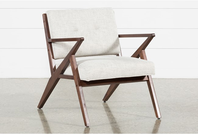 Kendrick Stone Accent Chair Living Spaces