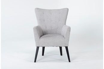 Kelsey Light Grey Accent Chair