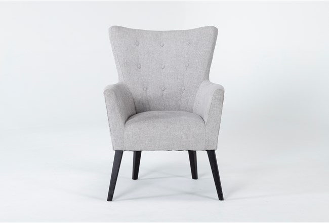 Kelsey Light Grey Accent Chair - 360