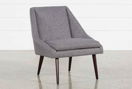 Keisha Grey Accent Chair