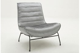 Grey Luxe Armless Chair