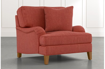 Abigail II Red Chair