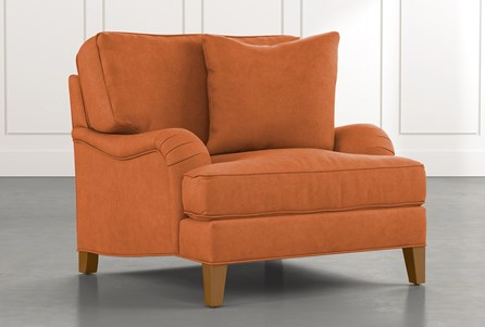 Abigail II Orange Chair