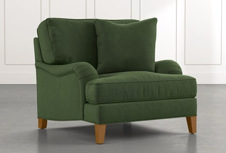 Abigail II Green Chair