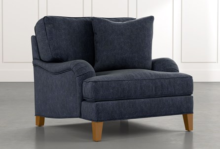 Abigail II Navy Blue Chair