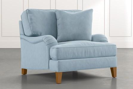 Abigail II Light Blue Chair