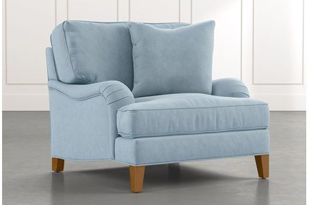 Abigail II Light Blue Chair