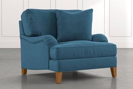Abigail II Teal Chair